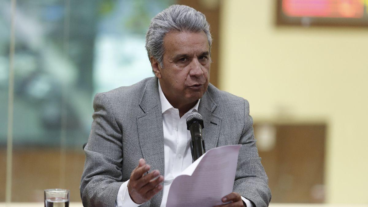 Lenín Moreno se pronunció luego de que se venció el plazo dada por su Gobierno para que los secuestradores den pruebas que los periodistas siguen con vida.