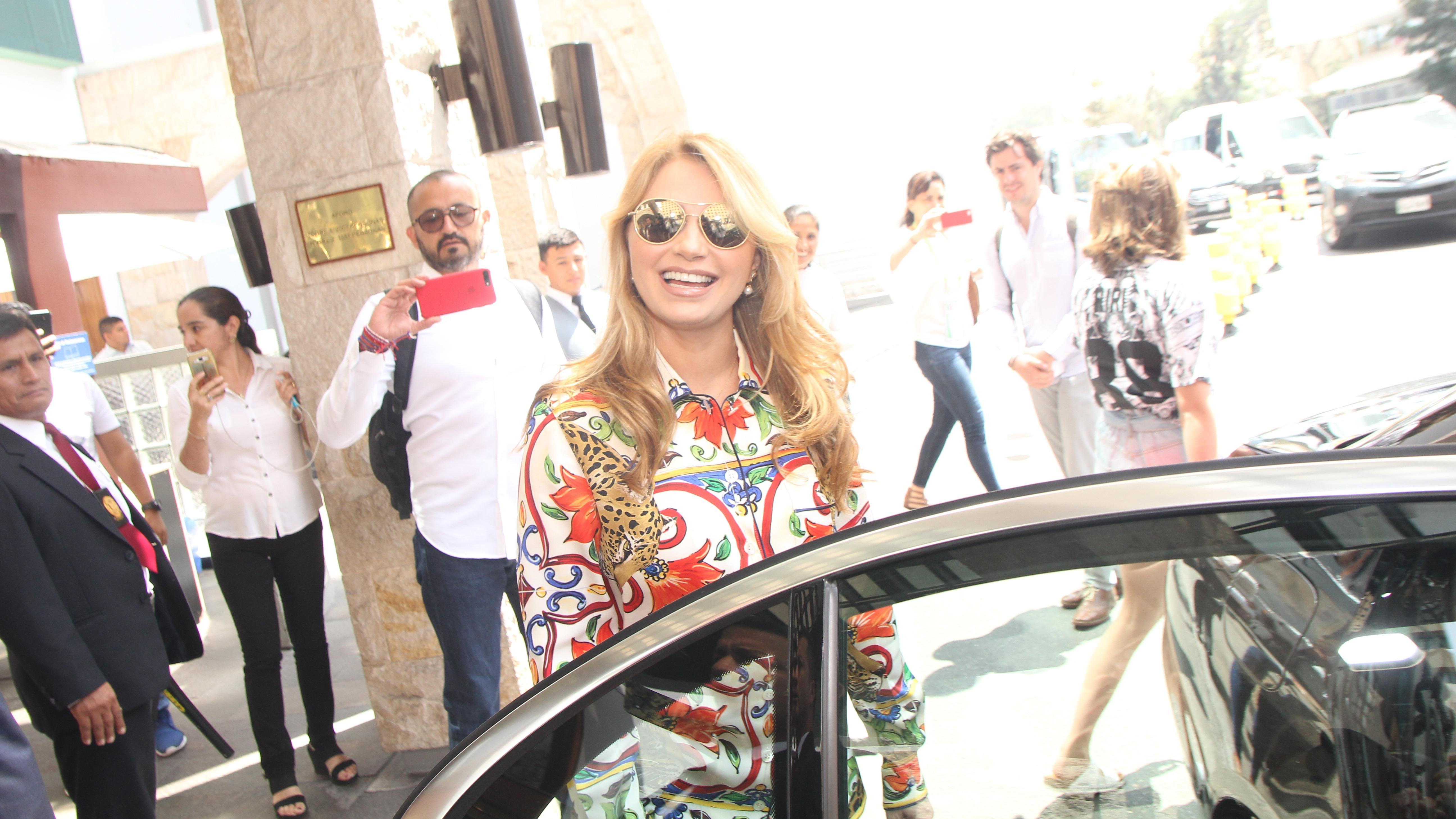 La actriz mexicana, Angélica Rivera, es la Primera Dama de México y conocida en el ambiente artístico como 'Gaviota'.