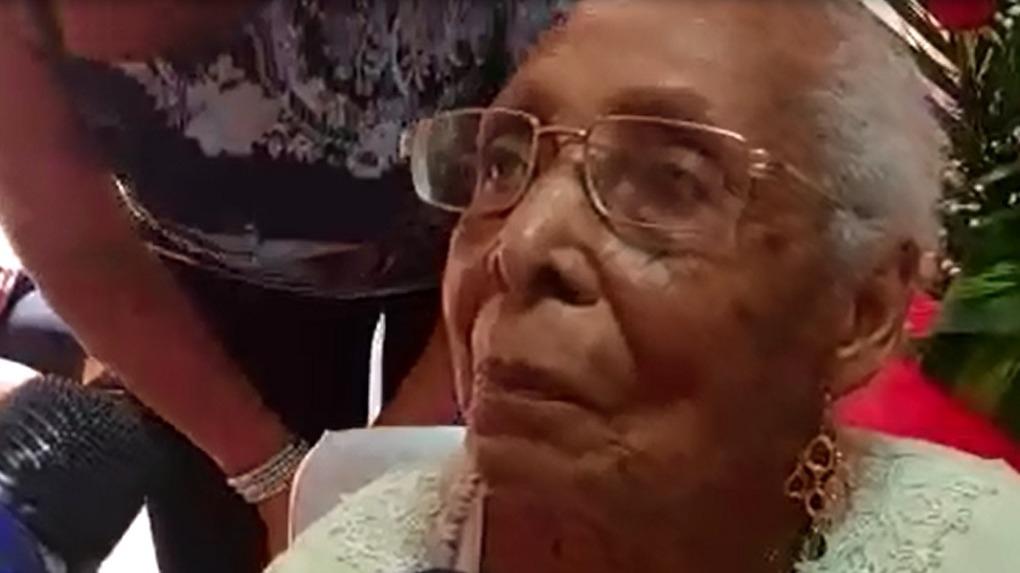 Buena alimentación y mucho amor con su esposo son los secretos en estos 103 años de vida