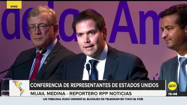 Marco Rubio participa en la VIII Cumbre de las Américas