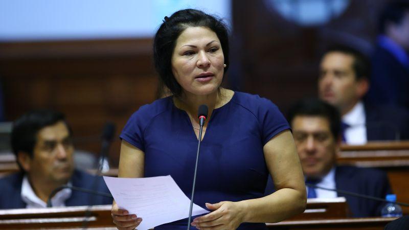 Mercedes Aráoz cuestionó el desempeño de la Comisión de Ética en el caso Yesenia Ponce.