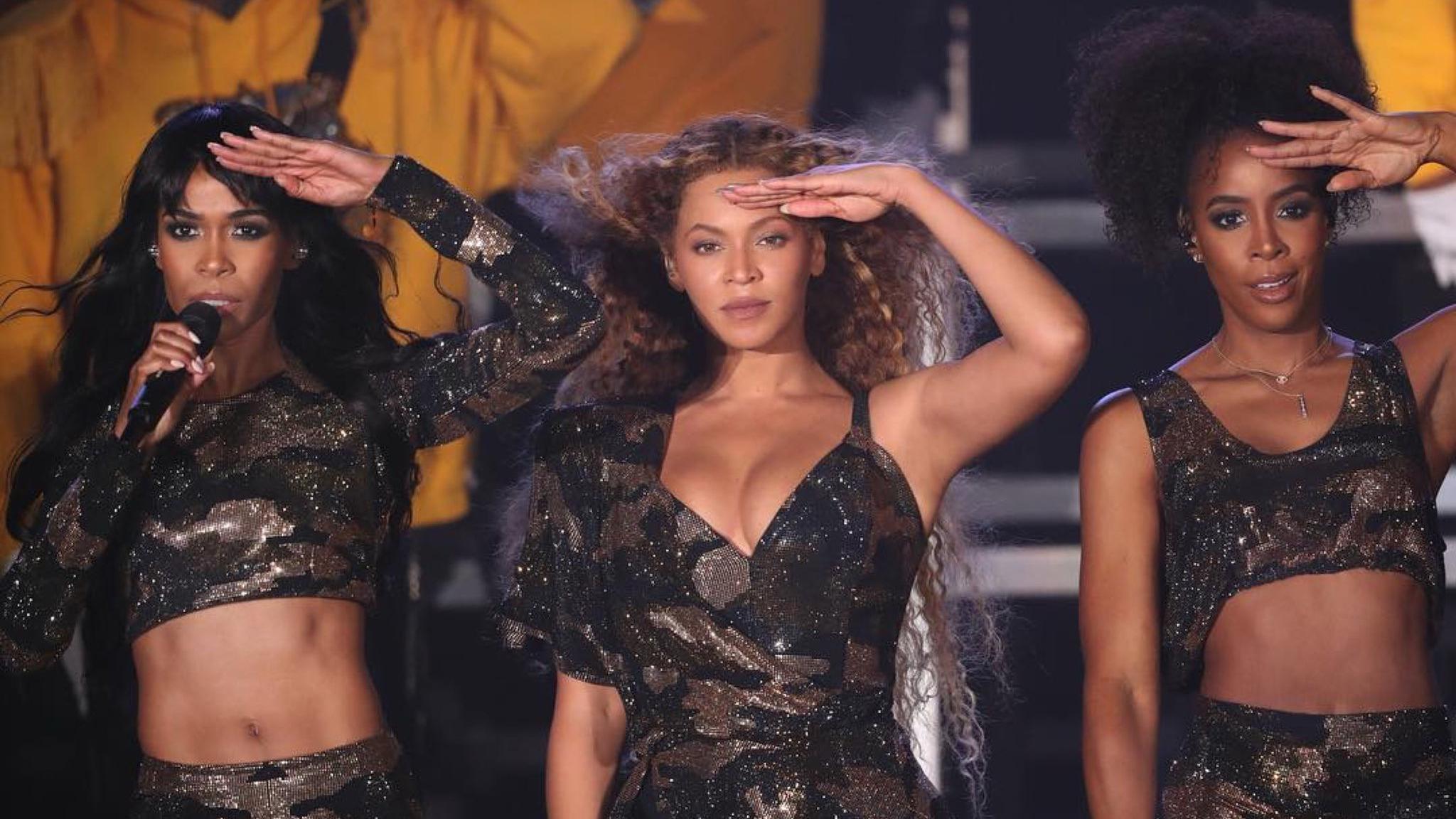 Benyocé volvió a cantar con Destiny's Child tras 5 años.