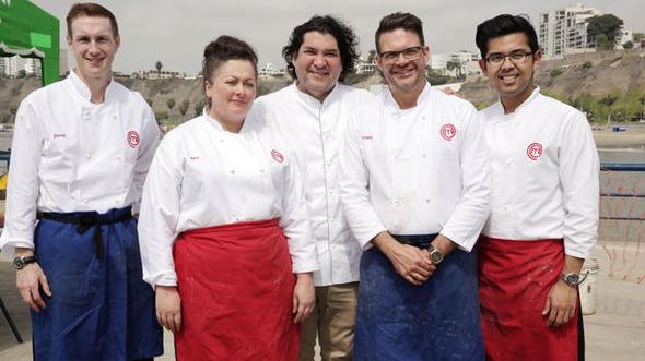 La semifinal de MasterChef UK se realizó en Perú. Los finalistas visitaron los distritos de Chorrillos, Miraflores y San Isidro.