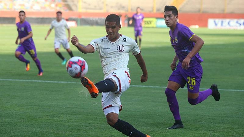 Universitario venció por la mínima diferencia al equipo dirigido por Rolando Chilavert.