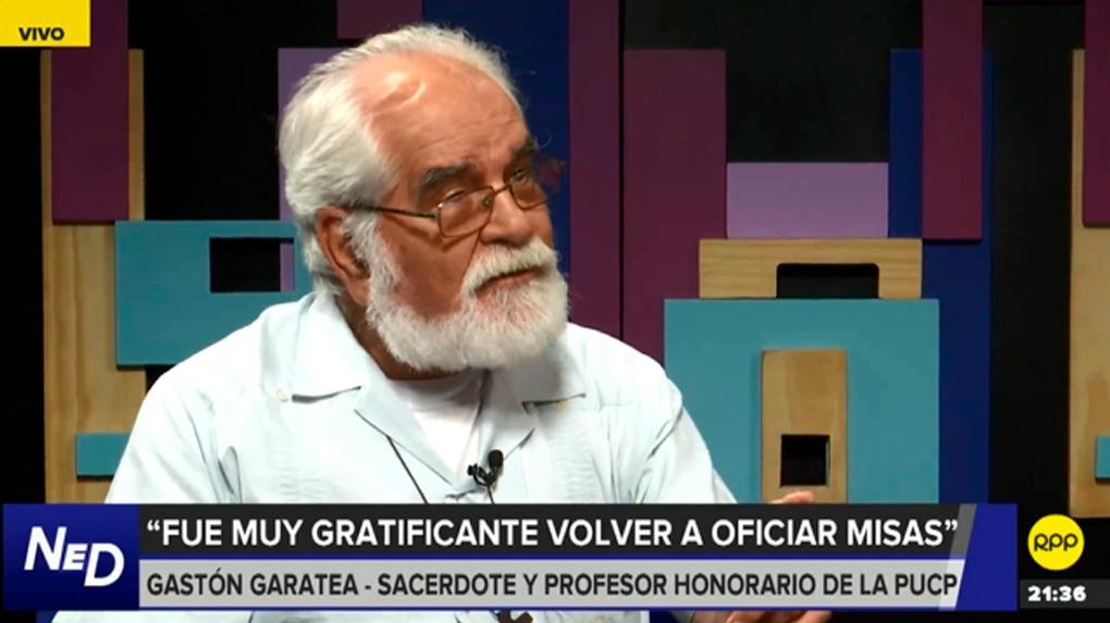 Gastón Garatea es profesor honorífico de la Pontificia Universidad Católica del Perú (PUCP).