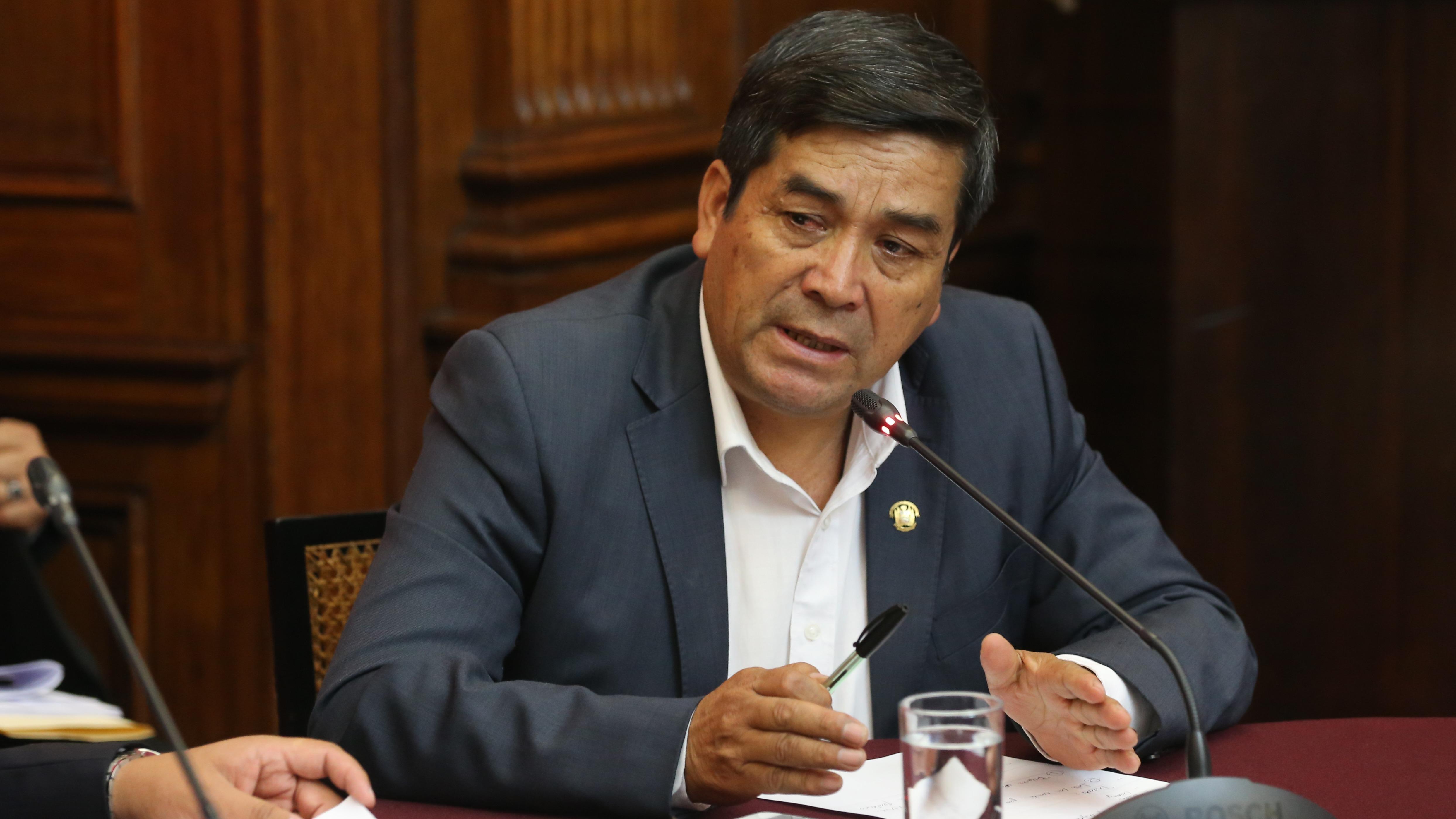 El congresista Benicio Ríos representa a la región Cusco y pertenece a la bancada de Alianza para el Progreso