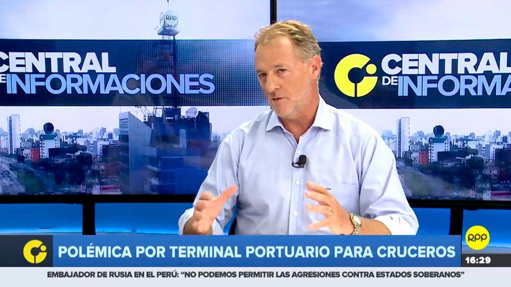 El alcalde de Miraflores, Jorge Muñoz, conversó con RPP Noticias sobre el polémico terminal para cruceros.