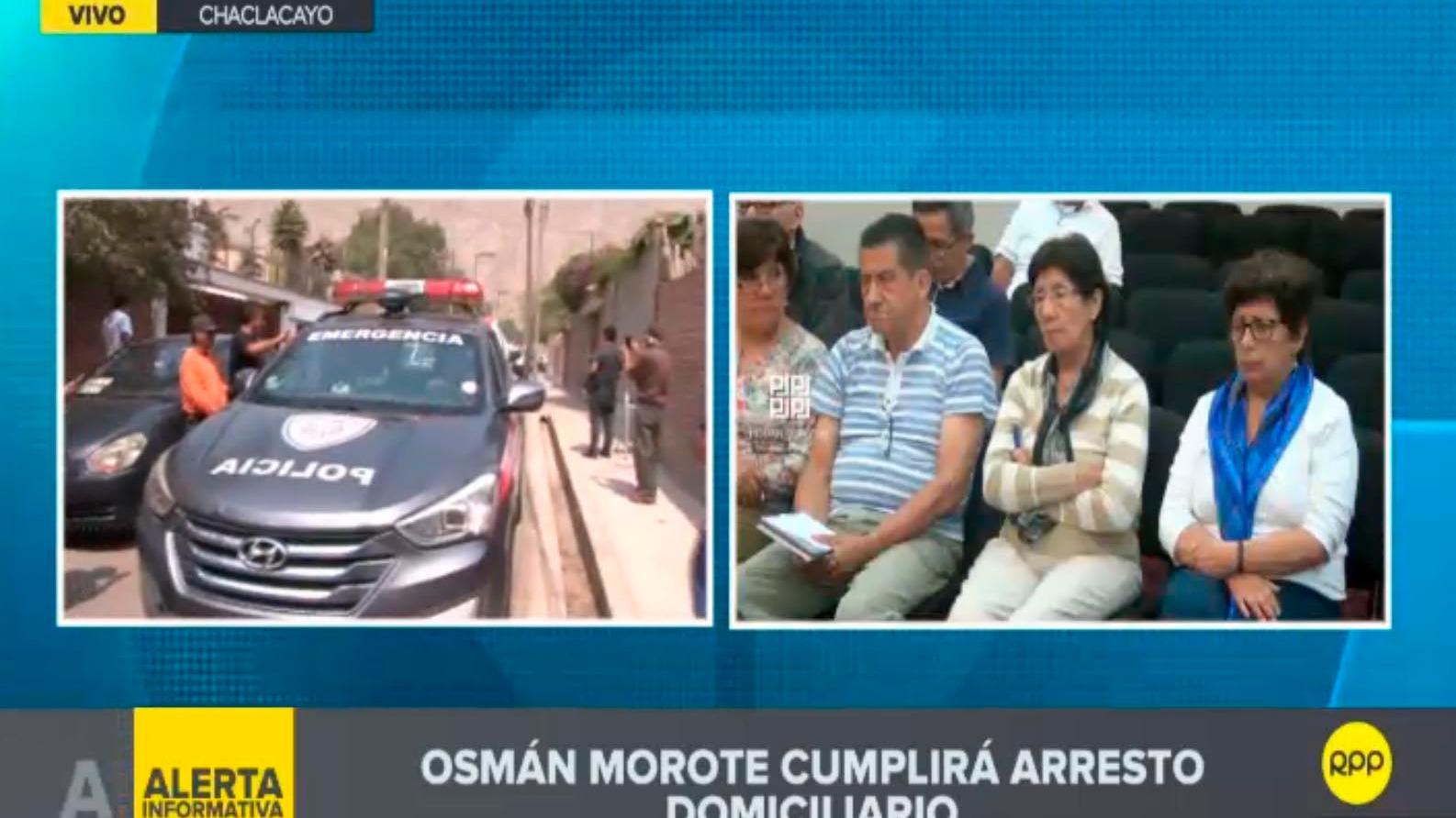 Terrorista Morote cumplirá arresto domiciliario