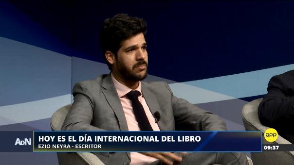 Ezio Neyra habló sobre la importancia de las bibliotecas en el programa