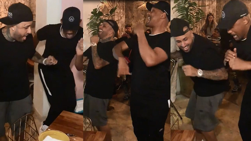 Will Smith compartió video bailando la canción