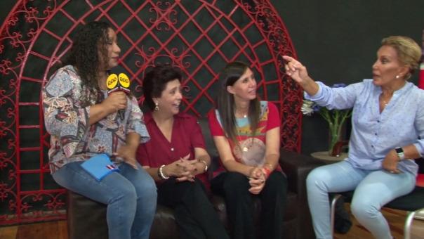 Bartola bromea con las novedades que traerá el espectáculo.