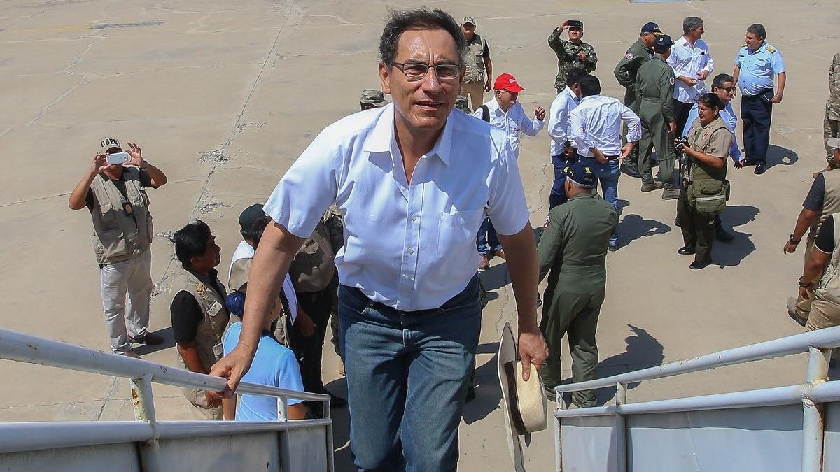 Presidente llegó a Lampa, Puno, para supervisar el funcionamiento de la Planta de Tratamiento de Aguas Residuales.