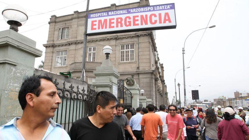La directora del Hospital Loayza se pronunció sobre la denuncia de presunta negligencia.