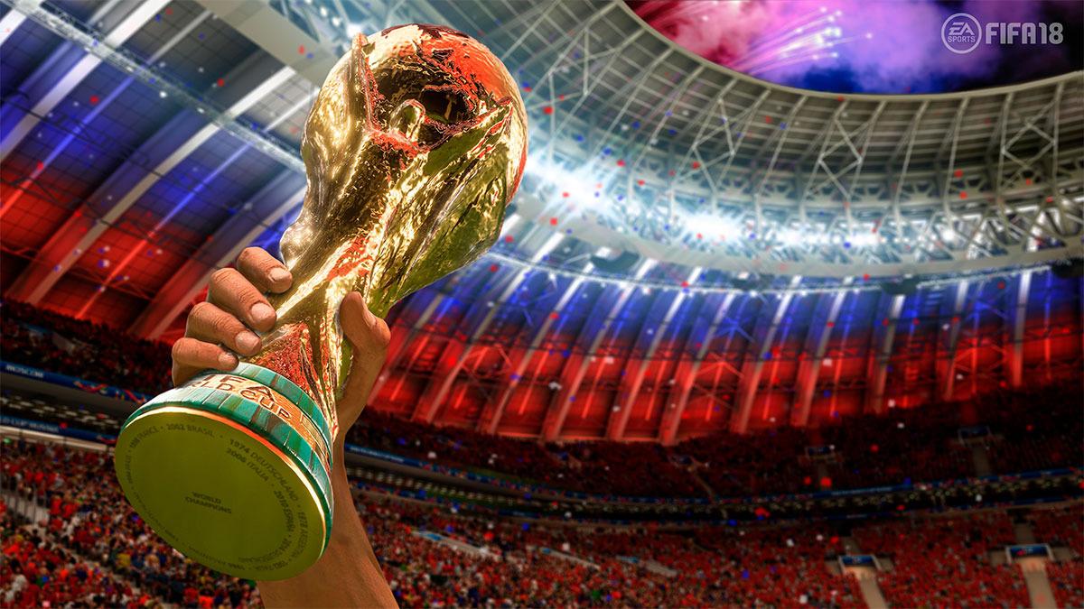 Todos los elementos del Mundial Rusia 2018 se mostrarán fielmente reflejados en el juego.