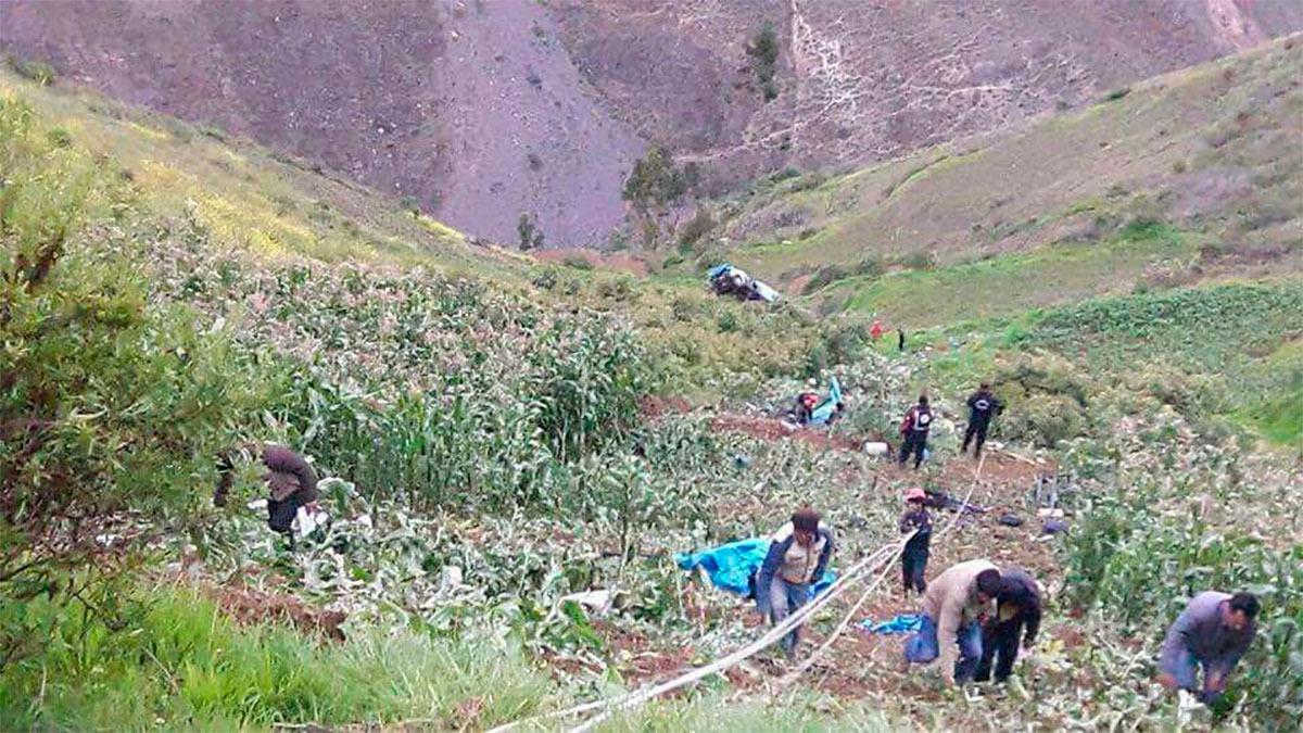 Dos accidentes en Huaraz.