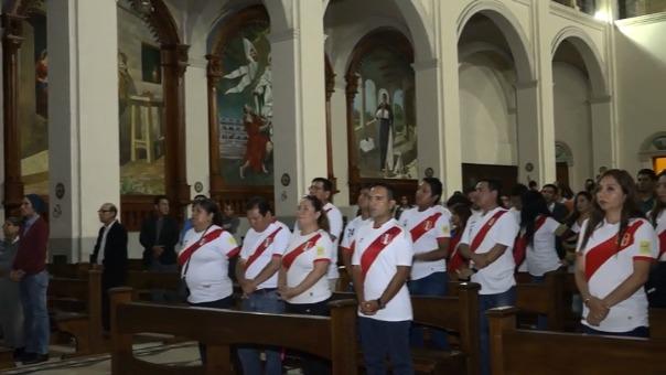 Entre los asistentes se encontraban trabajadores de la Municipalidad de Nuevo Chimbote.