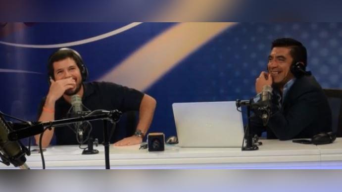 Renato Cisneros fue sorprendido por Alfredo Gálvez en el programa