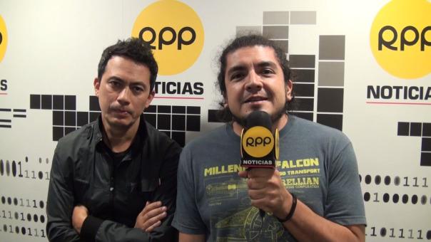 Jorge Olazo y Mauricio Mesones de Bareto anuncian concierto del próximo 25 de mayo con Agua Marina y Los Mirlos en Barranco Arena.