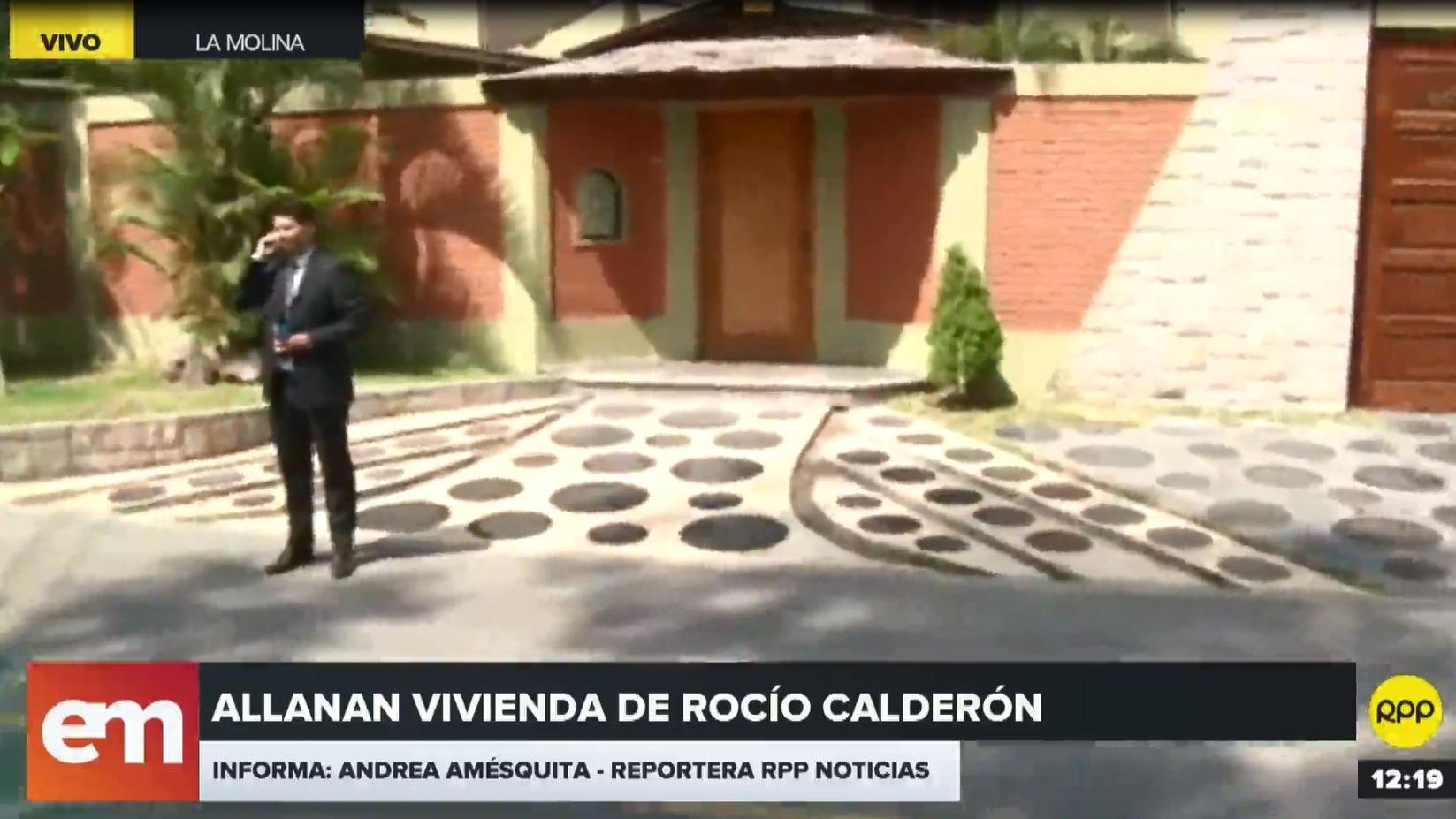 Fiscalía allanó propiedad de Rocío Calderón, amiga de la ex primera dama.