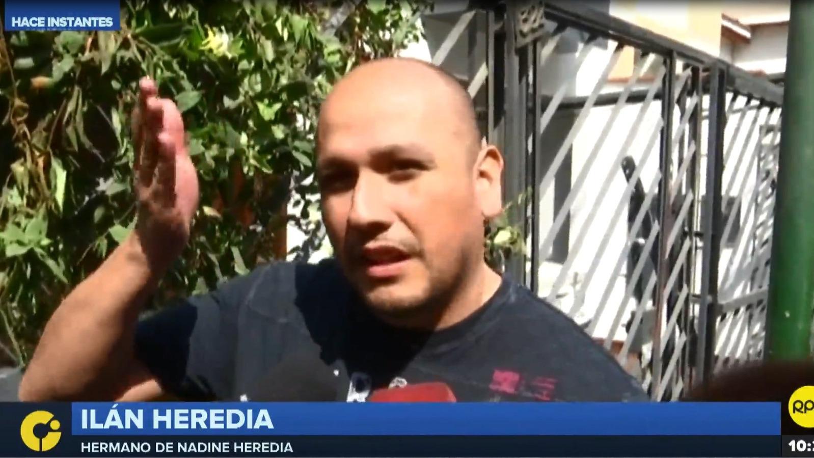 Ilán Heredia, hermano de la ex primera dama, rechazó el incautamiento de inmuebles relacionados a Ollanta Humala y su esposa.