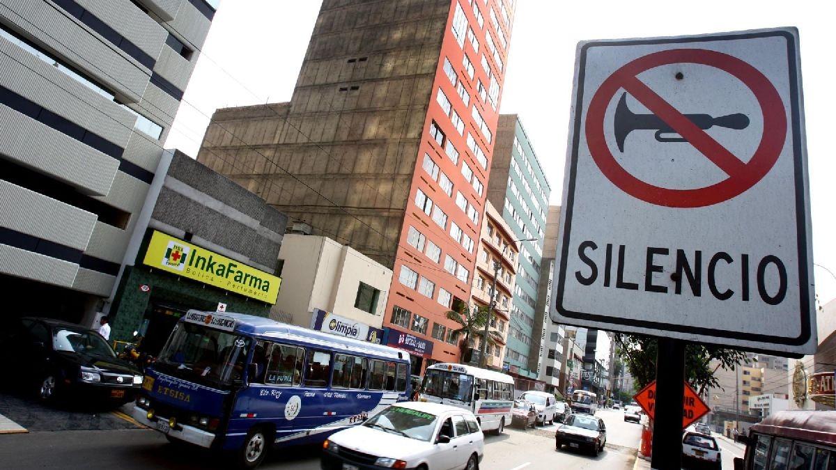 Conoce cuáles son las zonas más ruidosas del Centro de Lima.