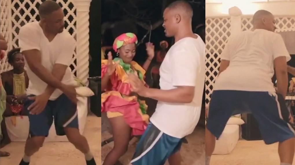 Will Smith compartió un nuevo video, donde aparece bailando champeta, ritmo colombiano de efusivos movimientos.