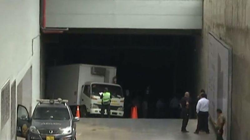El accidente ocurrió este miércoles en una rampa de acceso del centro comercial Real Plaza Salaverry.