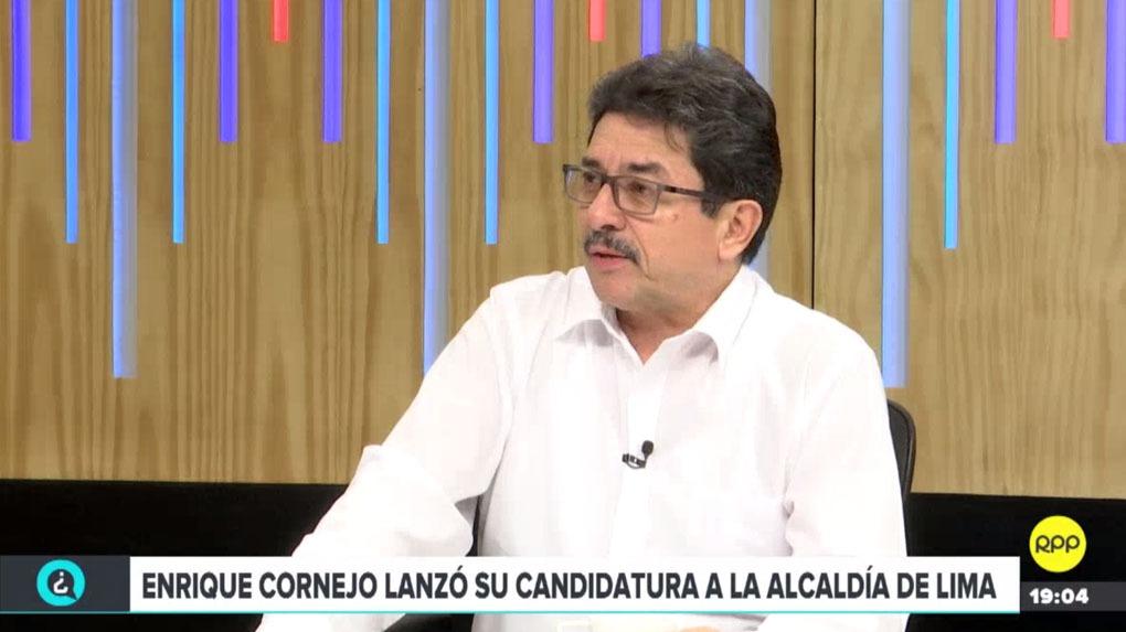 Enrique Cornejo estuvo en ¿Quién Tiene la Razón? en RPP Noticias.
