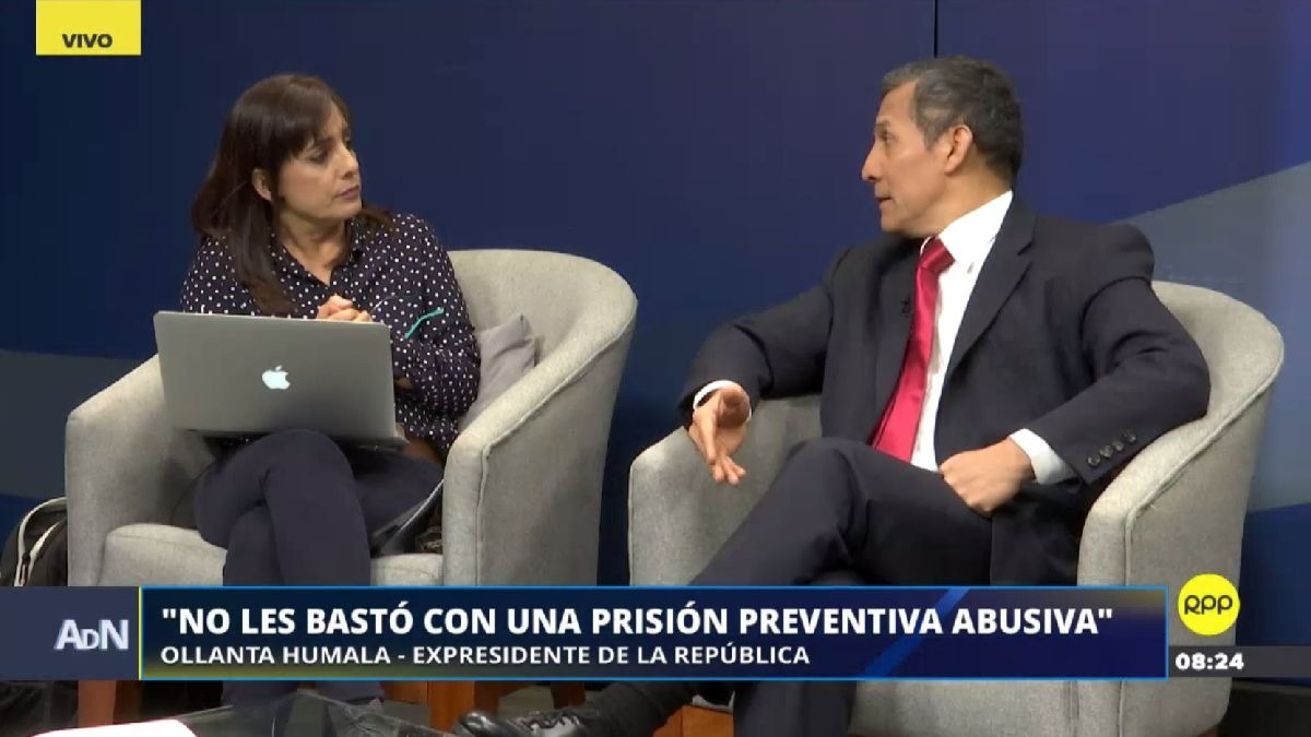 Escucha la segunda parte de la entrevista con Ollanta Humala.