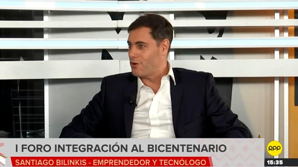 Santiago Bilinkis dijo que los ciudadanos tienen