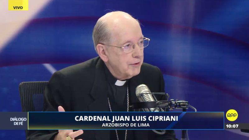 Juan Luis Cipriani resaltó que las madres ocupan un espacio muy importante en la vida de todos.