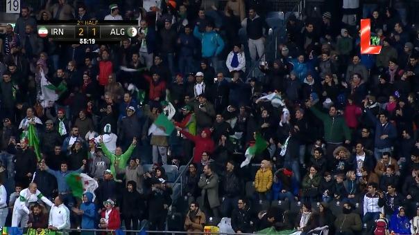 La última victoria de Irán fue ante Argelia.