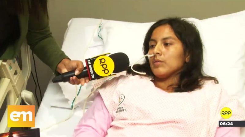 A través de RPP Noticias, María Elizabeth Fernández Flores reveló que su expareja la amenazó de muerte por haberlo denunciado por acoso.