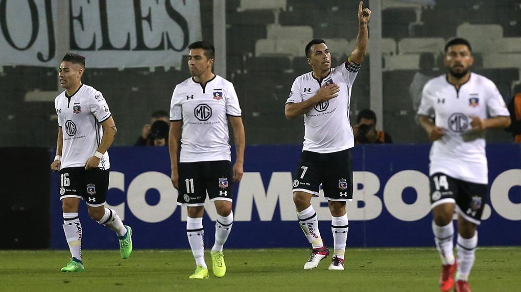 Esteban Paredes es el máximo anotador chileno histórico en la Copa Libertadores.