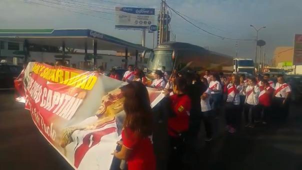 Hinchas trujillanos consideran que sanción a Guerrero es injusta.