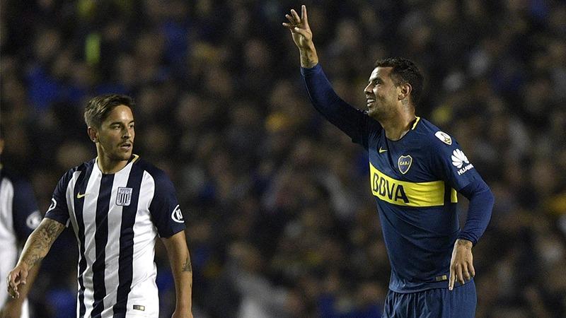 Boca Juniors viene goleando 4-0 a Alianza Lima por la Copa Libertadores.