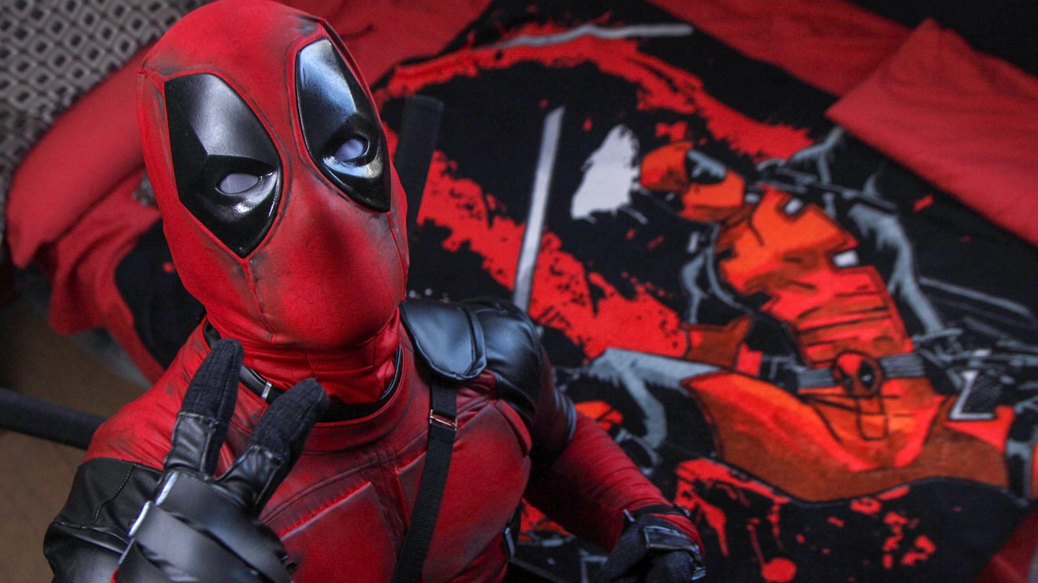 Jason Castro pertenece a la comunidad Marvel Assemble Perú y será el cosplayer del antihéroe en la premiere de