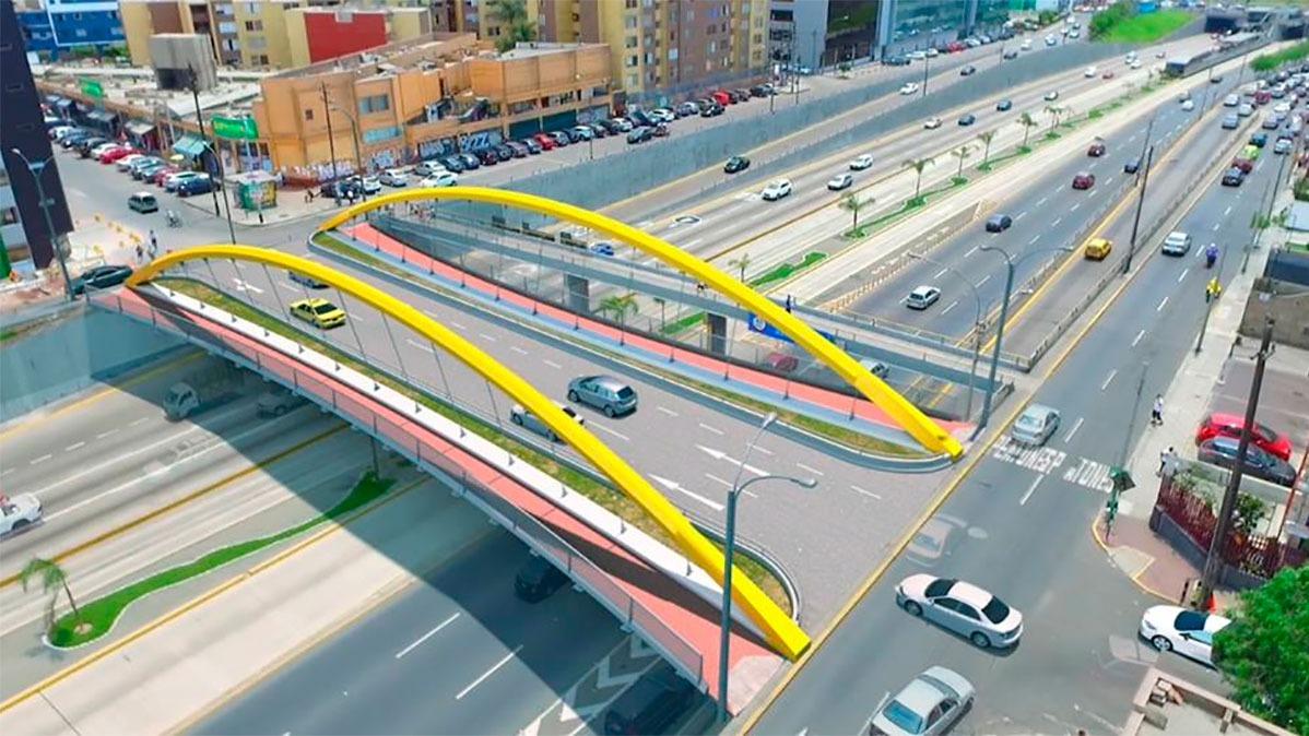 Ambos puentes contarán con veredas, ciclovías e iluminación ornamental.