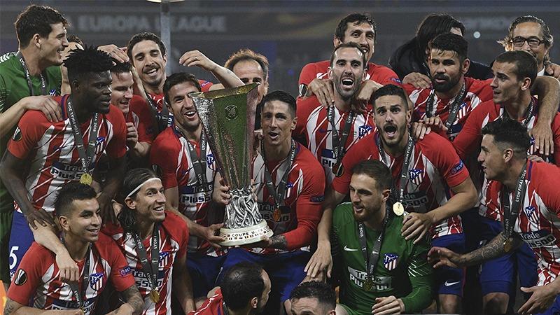 Atlético de Madrid consiguió su tercer título de Europa League.