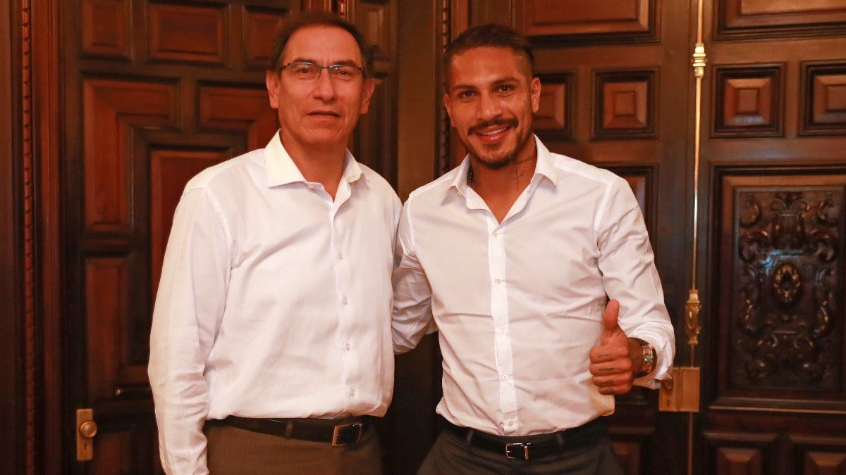 El presidente reveló que Paolo Guerrero le solicitó reunirse con él.