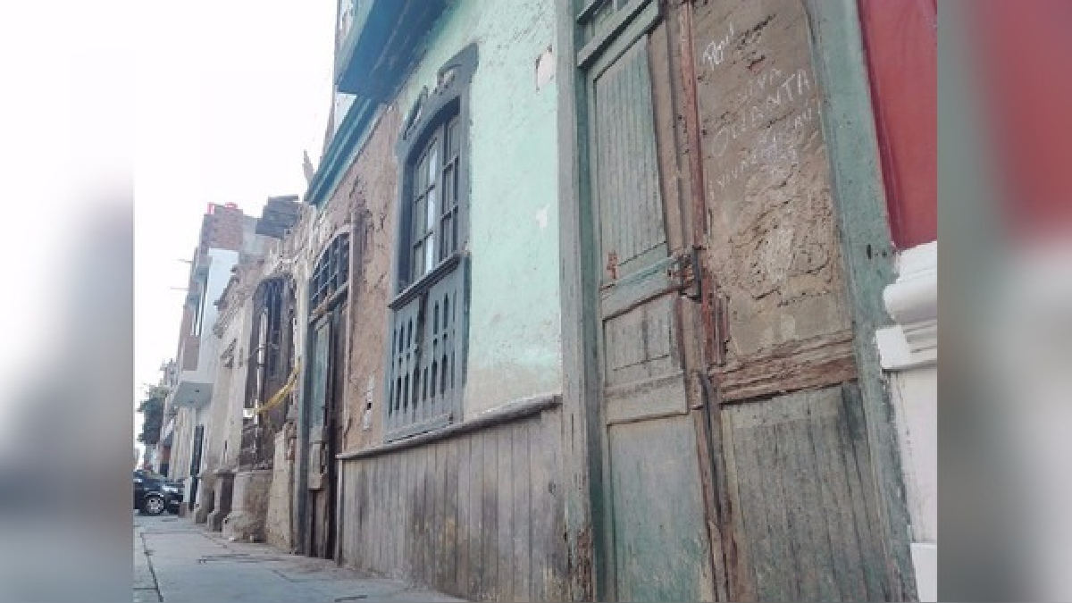 Casonas de Trujillo en riesgo de colapsar ante un sismo