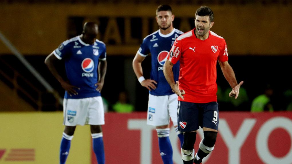 Independiente logró un estupendo empate en Bogotá ante Millonarios.