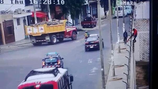 Agentes de seguridad de Trujillo detuvieron al menor cerca al centro histórico y fue conducido al albergue de menores.
