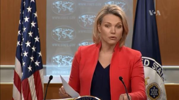 Portados de Estados Unidos, Heather Nauert, exigió a Venezuela garantizar seguridad para Joshua Holt.