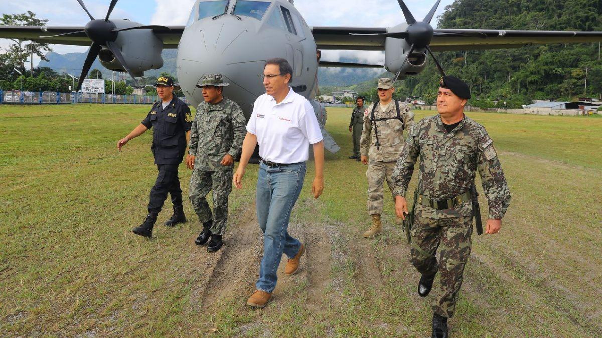 El presidente de la República visitó Huánuco este viernes. Fue su décimo viaje a una región desde llegó a Palacio.