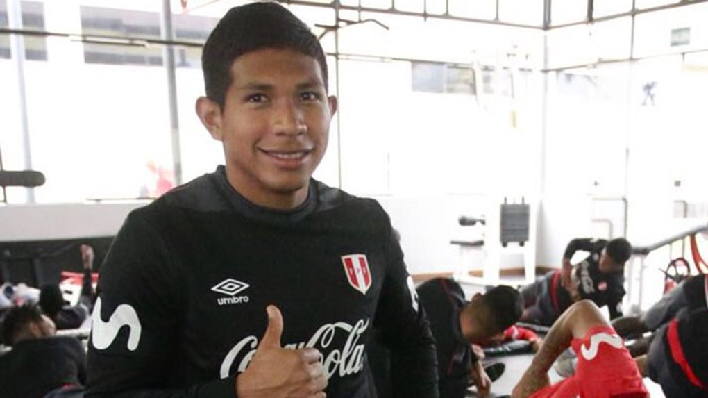 Edison Flores ha jugado 27 encuentros con la Selección Mayor Peruana.