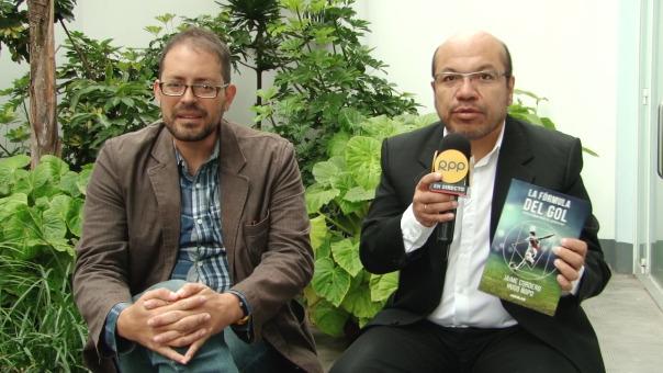 Jaime Cordero y Hugo Ñopo, autores de