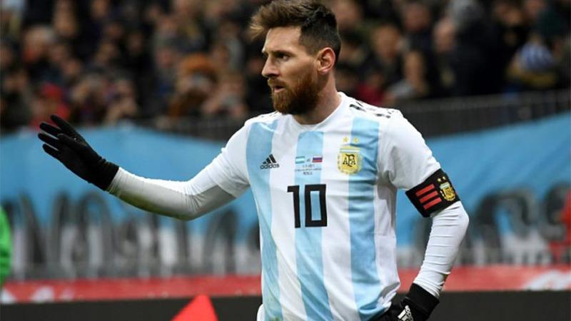 Resultado de imagen para messi argentina 2018