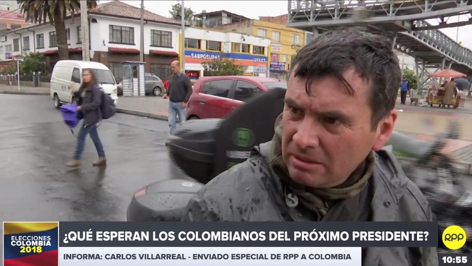 Los colombianos esperan que prime el debate y la confrontación de ideas con miras a la segunda vuelta, según el sondeo de RPP.