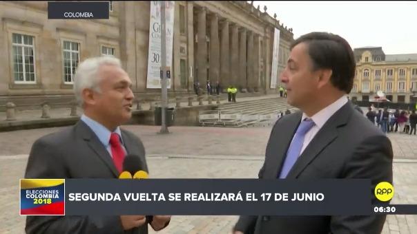 RPP Noticias estuvo presente en Colombia con su enviado especial, Carlos Villarreal.